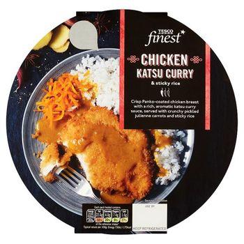 Tesco Finest Chicken Katsu Curry And Rice