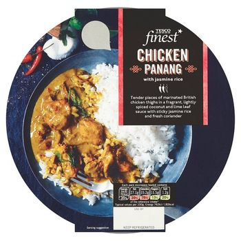 Tesco Finest Chicken Penang And Rice